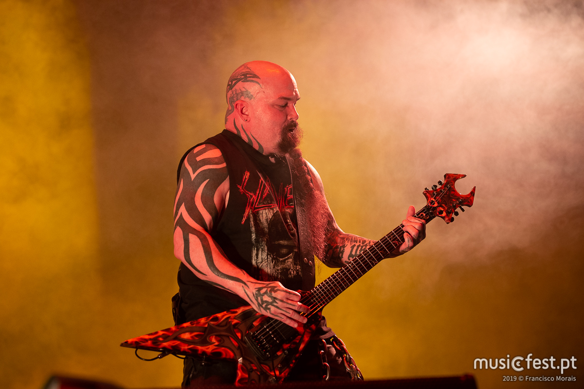 Vê aqui todas as fotos dos Slayer no VOA 2019