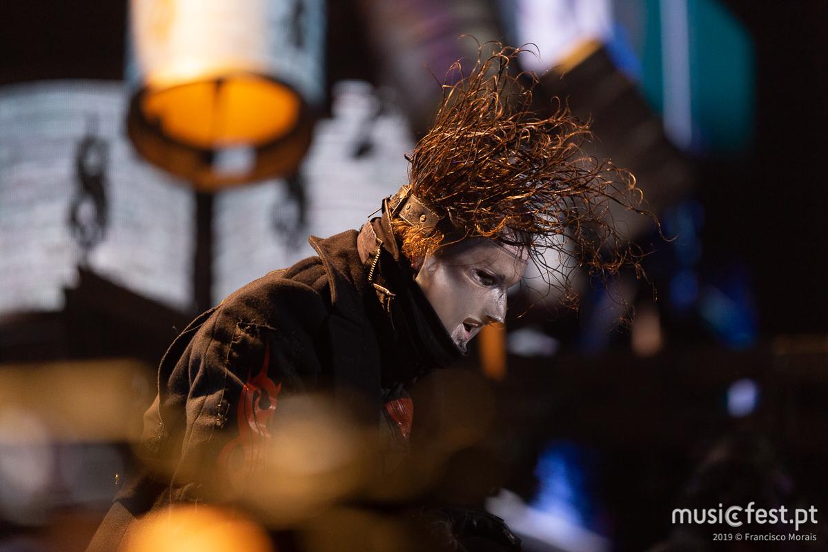 Slipknot actuam em Agosto na Altice Arena