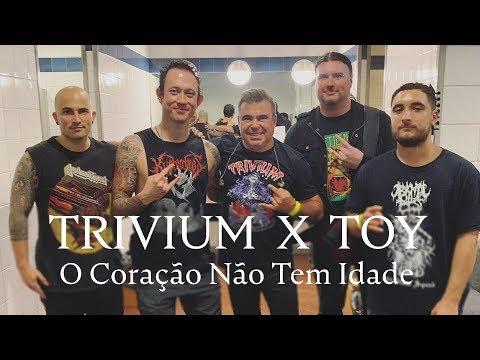 Toy actuou ontem com os Trivium no VOA 2019 - Vídeo oficial