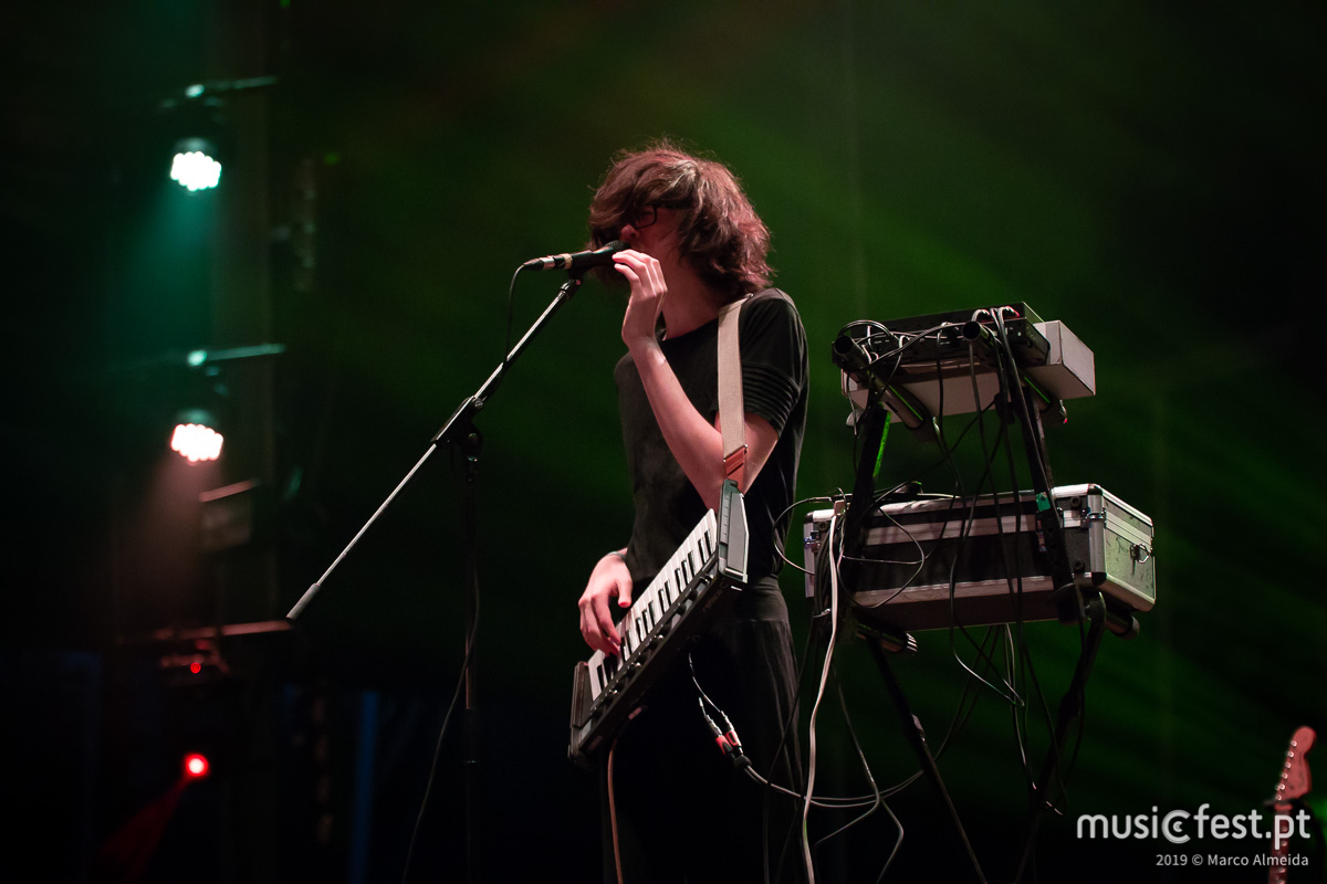 Vê aqui todas as fotos dos Car Seat Headrest no Vodafone Paredes de Coura