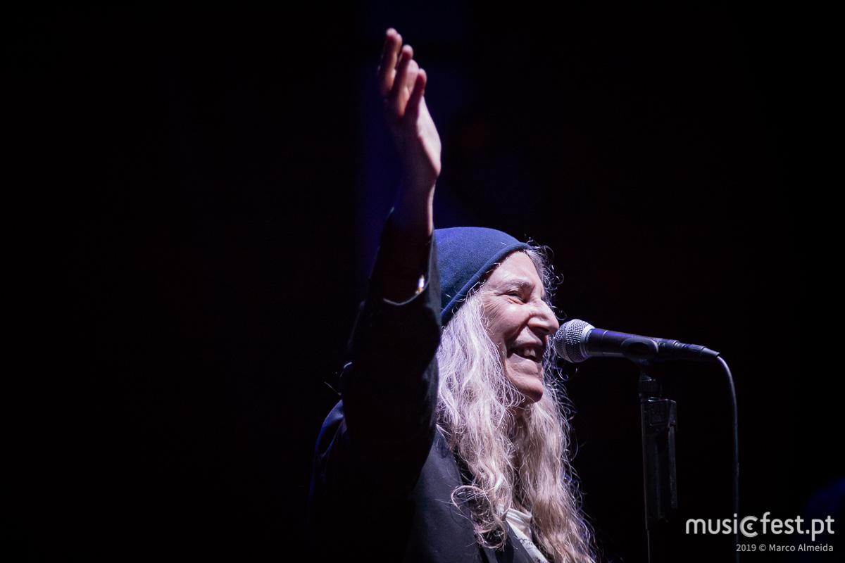 Um festival de festivaleiros, para festivaleiros - Patti Smith é a mais verdadeira de todos nós