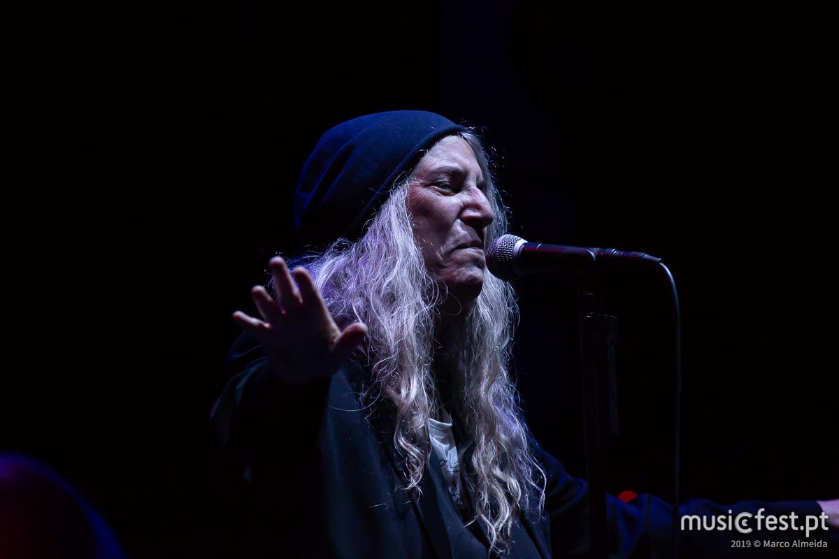 Vê aqui todas as fotos de Patti Smith no Vodafone Paredes de Coura