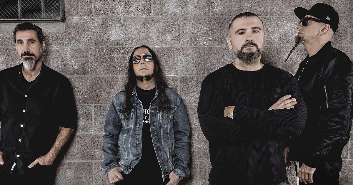 Os System of a Down são cabeça de cartaz do VOA Heavy Rock Festival 2020 que decorrerá no Estádio Nacional