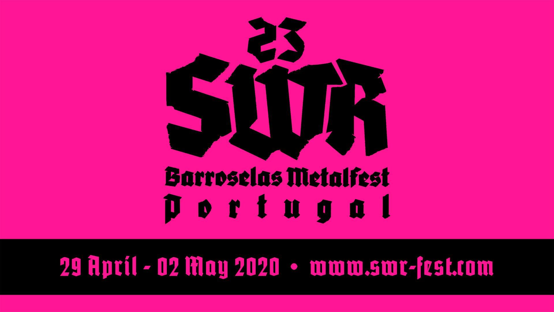 Primeiras confirmações do SWR Barroselas Metalfest 2020