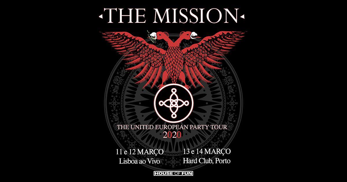 The Mission em Portugal para quatro concertos especiais