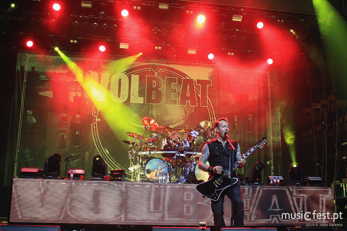 Vê aqui todas as fotos dos Volbeat no Coliseu de Lisboa