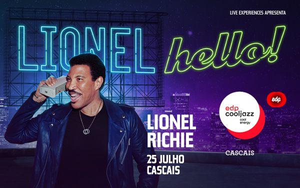 Lionel Richie é a primeira confirmação do EDPCOOLJAZZ 2020