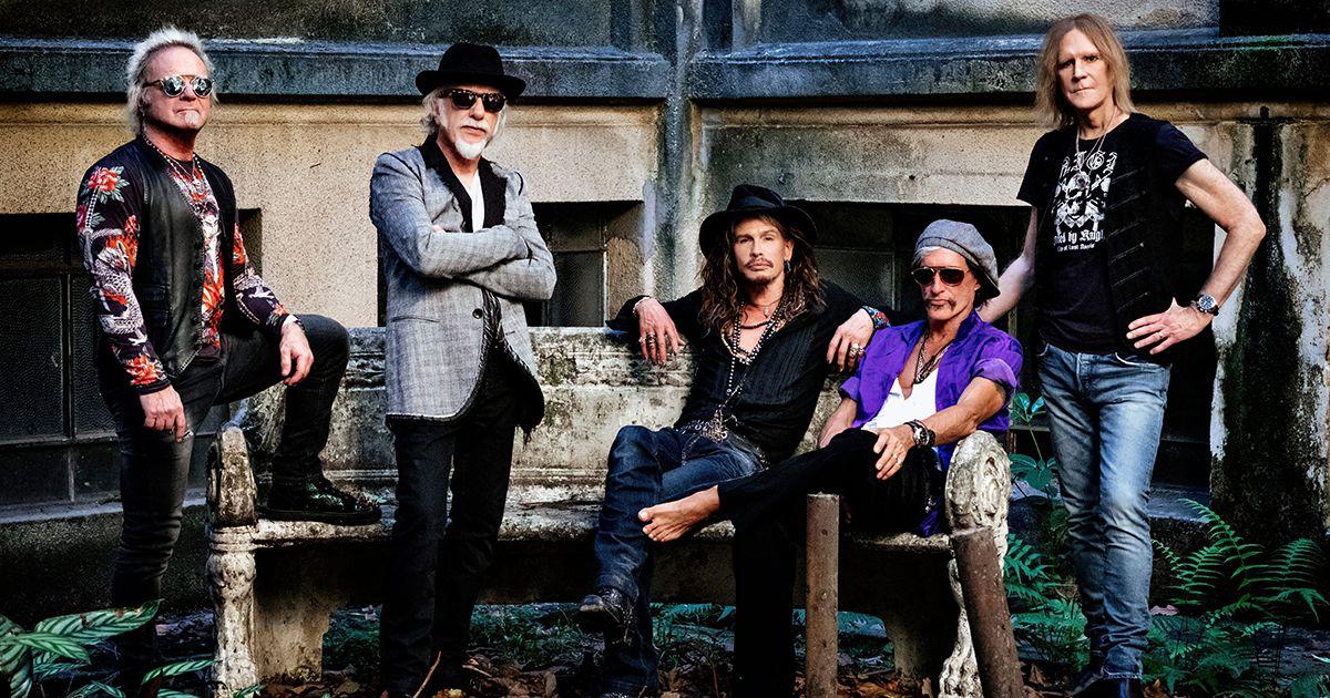 Aerosmith adiam concerto em Lisboa para Junho de 2022