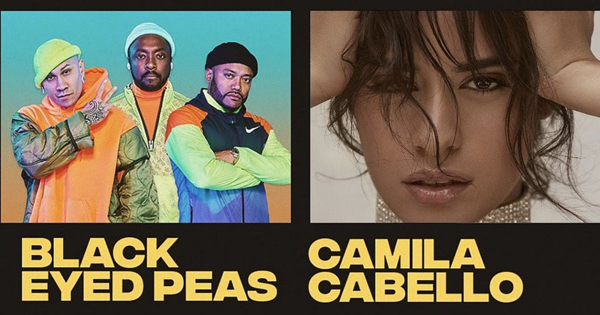 Camila Cabello e Black Eyed Peas no Rock in Rio Lisboa 2020