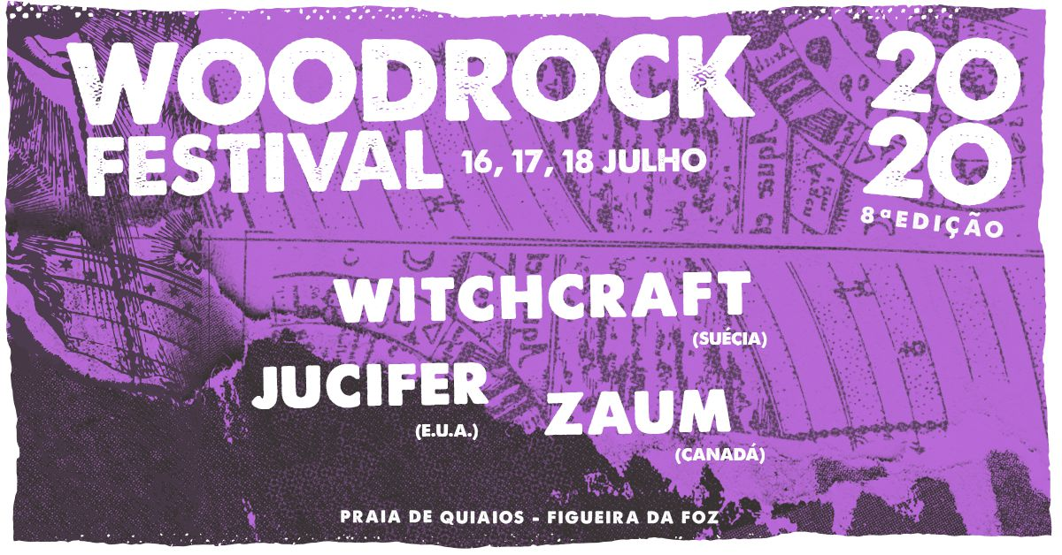 WoodRock Festival volta à praia de Quiaios em 2020