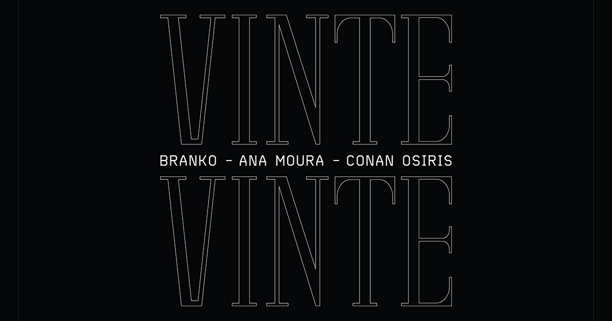 "Branko lança novo tema ""Vinte Vinte"" com Ana Moura e Conan Osiris"