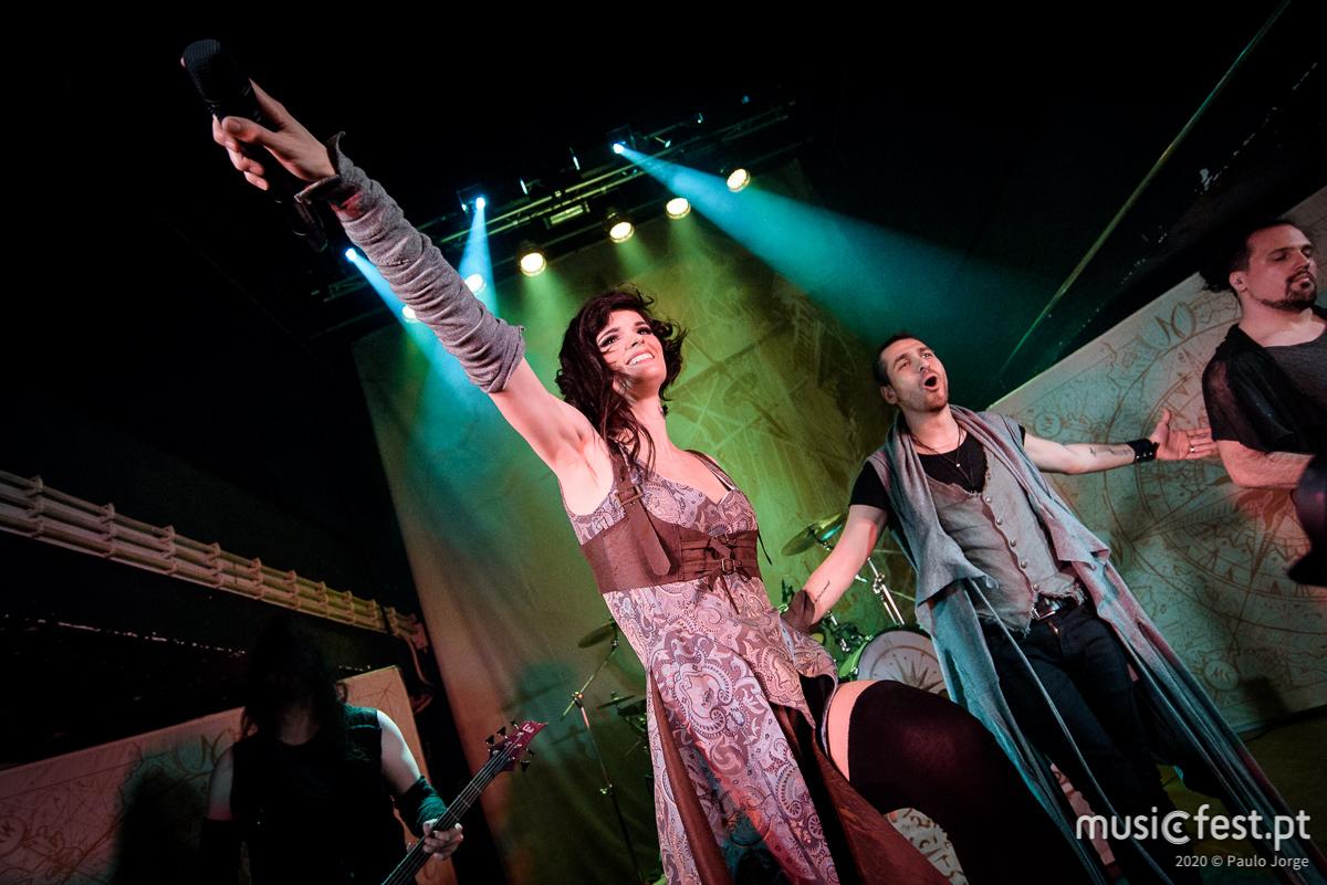 Boa Noite Cinderela! - Reportagem no concerto dos Visions of Atlantis no RCA