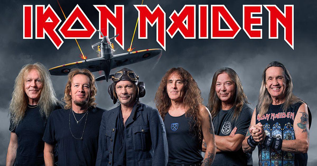 Concerto de Iron Maiden no Estádio Nacional adiado para 21 de Junho de 2021
