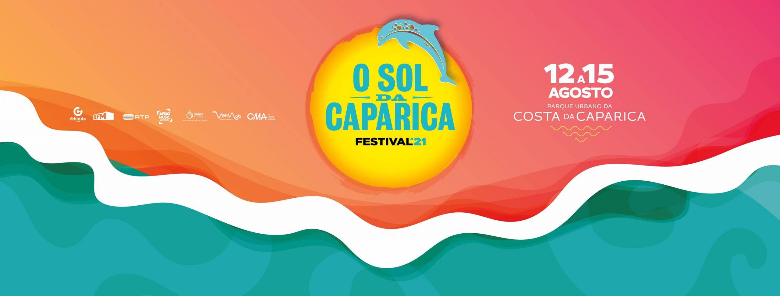 O Sol da Caparica está de volta de 12 a 15 de Agosto de 2021