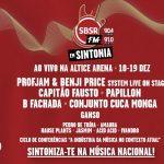 Rádio SBSR.FM Em Sintonia vai realizar-se nos dias 17 e 18 de dezembro (e não 18 e 19)