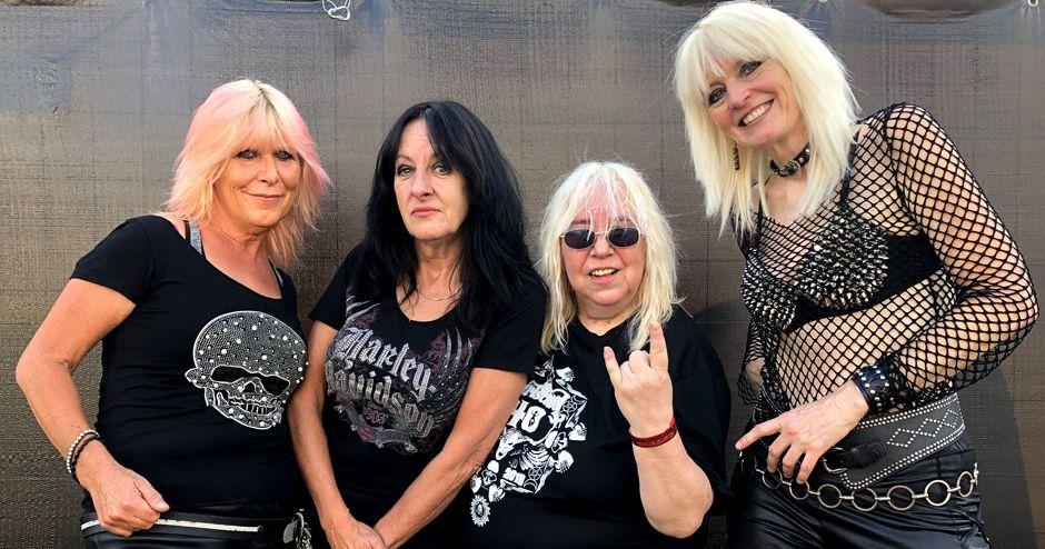 Girlschool reagendam concerto em Lisboa para Setembro de 2021