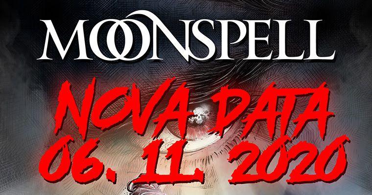 O tradicional concerto de Halloween dos Moonspell foi adiado para 6 de Novembro