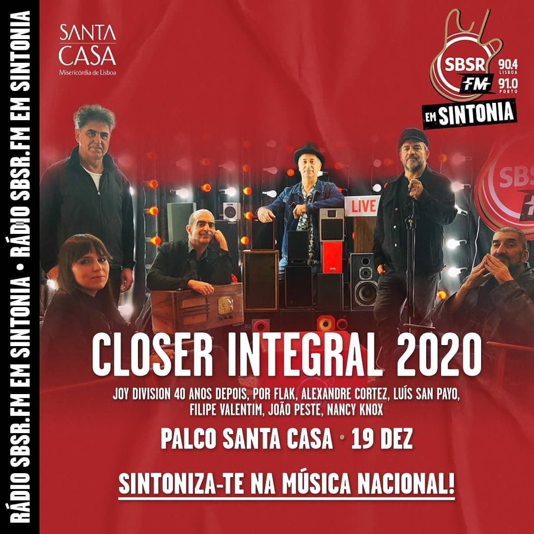 Palco Santa Casa do SBSR.FM Em Sintonia com cartaz completo