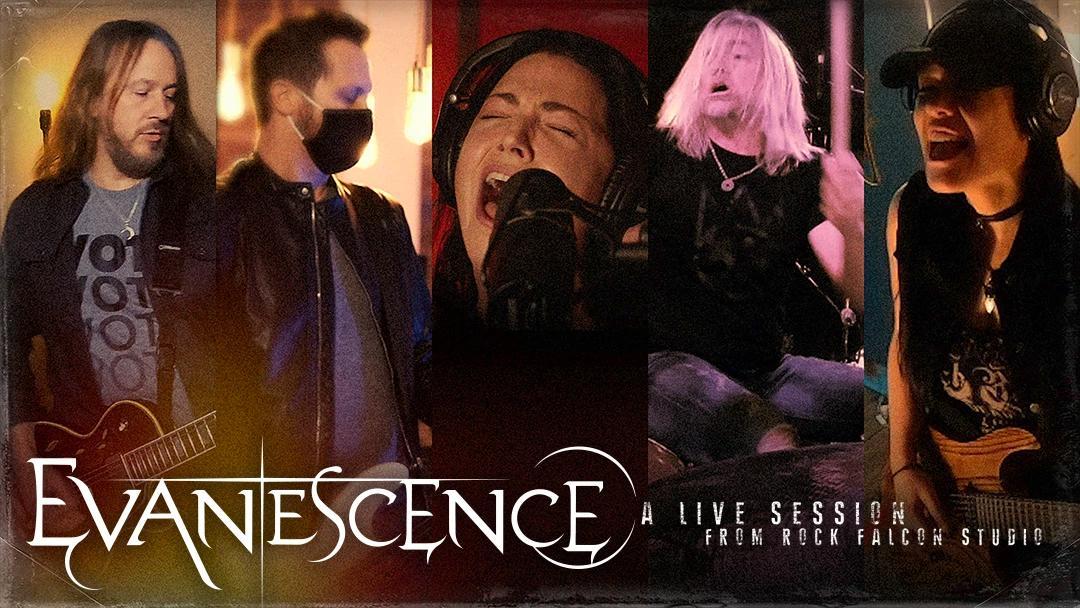 Evanescence anunciam concerto ao vivo com transmissão on-line dia 5 de dezembro de 2020