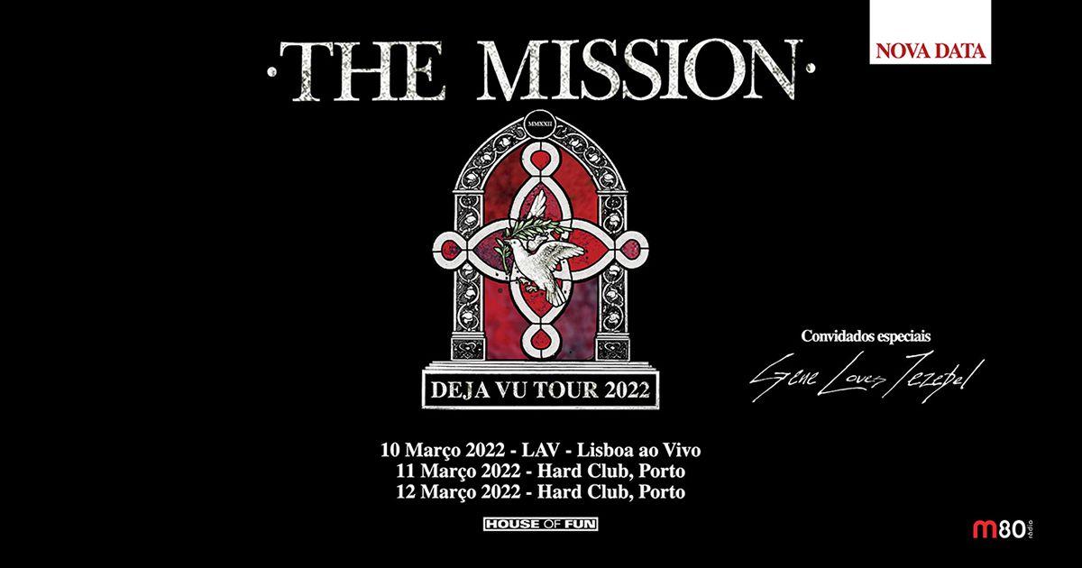 The Mission anunciam novas datas em 2022 para concertos em Portugal