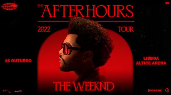 """The Weeknd anuncia regresso aos palcos com """"After hours world tour"""" que tem passagem em Lisboa"""