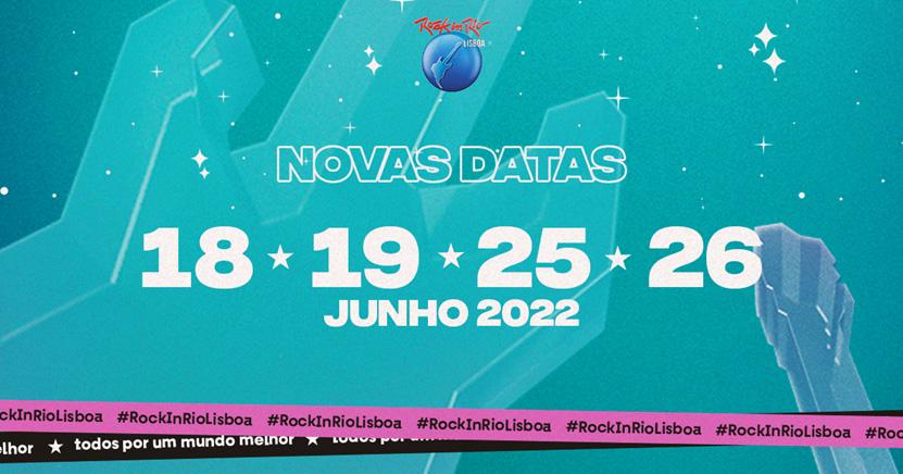 Mais um adiamento - Rock in Rio Lisboa volta em 2022