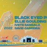 Ellie Goulding, Black Eyed Peas, Ivete Sangalo e David Carreira no Rock in Rio Lisboa 2022