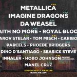 Metallica, Imagine Dragons e Da Weasel são as primeiras grandes confirmações do Alive 2022