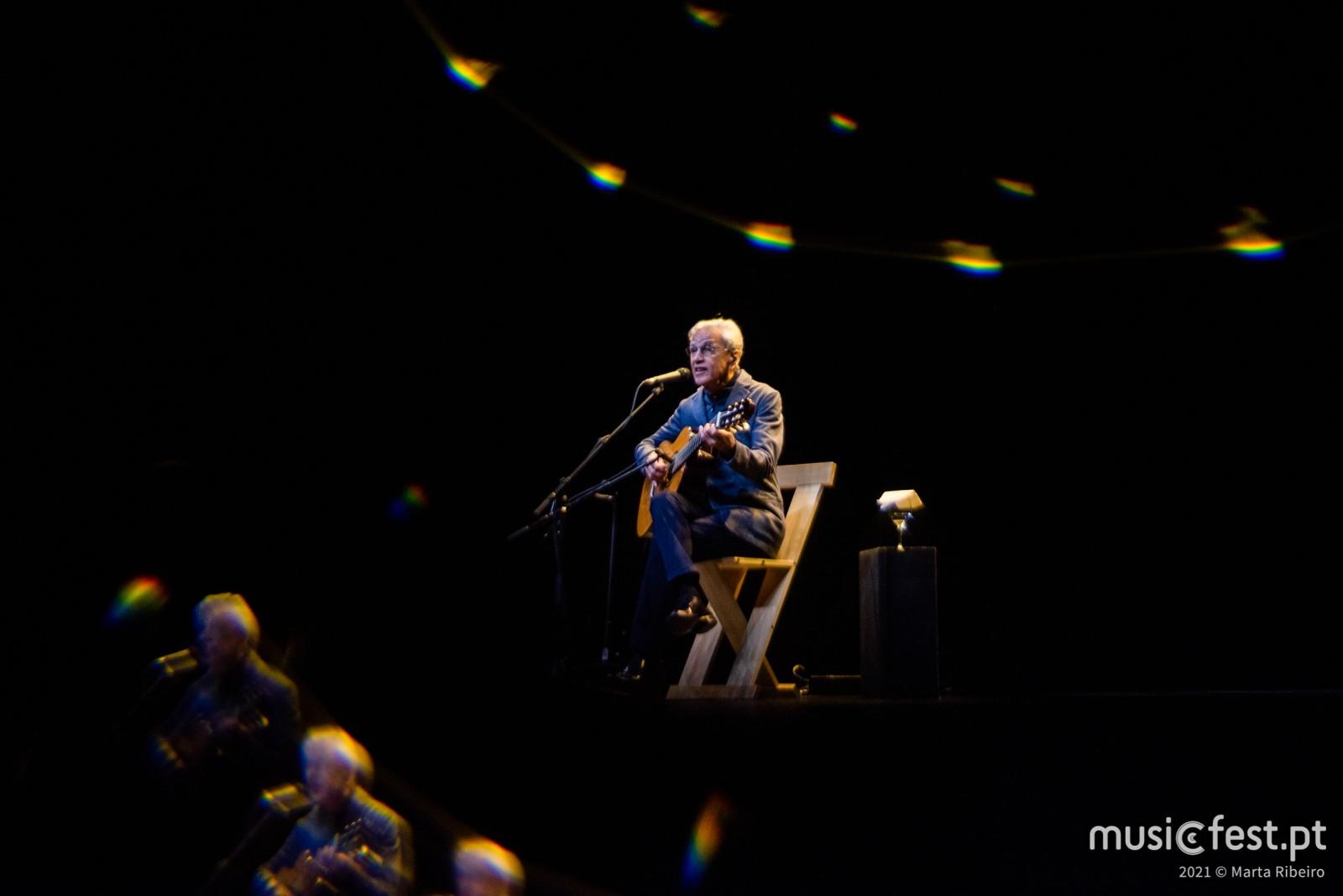 Caetano Veloso no Coliseu dos Recreios: menos é mais