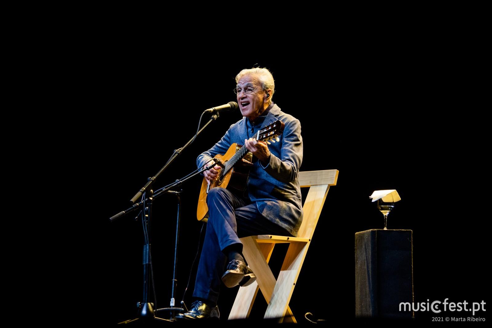 Vê aqui todas as fotos de Caetano Veloso no Coliseu de Lisboa