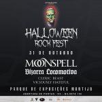 Moonspell e Bizarra Locomotiva actuam no Halloween Rock Fest a 31 de Outubro